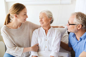 family wondering about senior care options